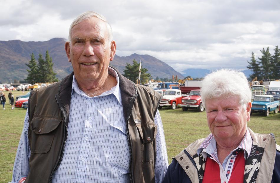 Ken and Helen McLeod, of Wanaka.