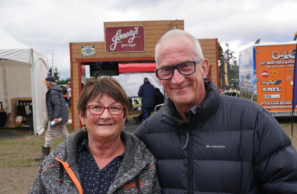 Judith and Lance Turnbull, of Dunedin.