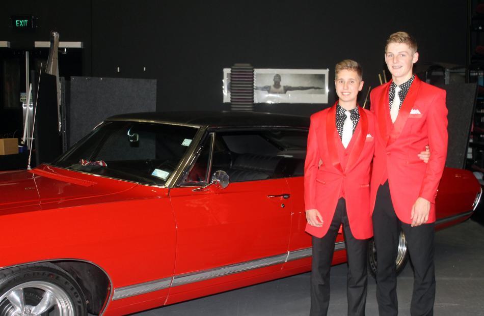 Liam McFarlane (15) and Quinn Robins (17), both of Invercargill.