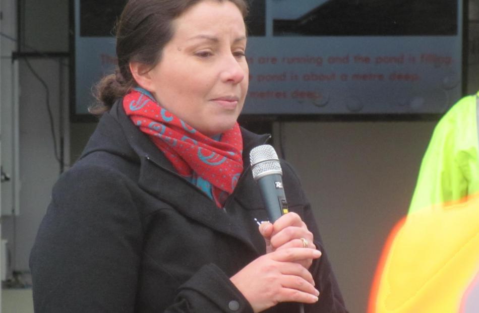 BCI environmental manager Eva Harris