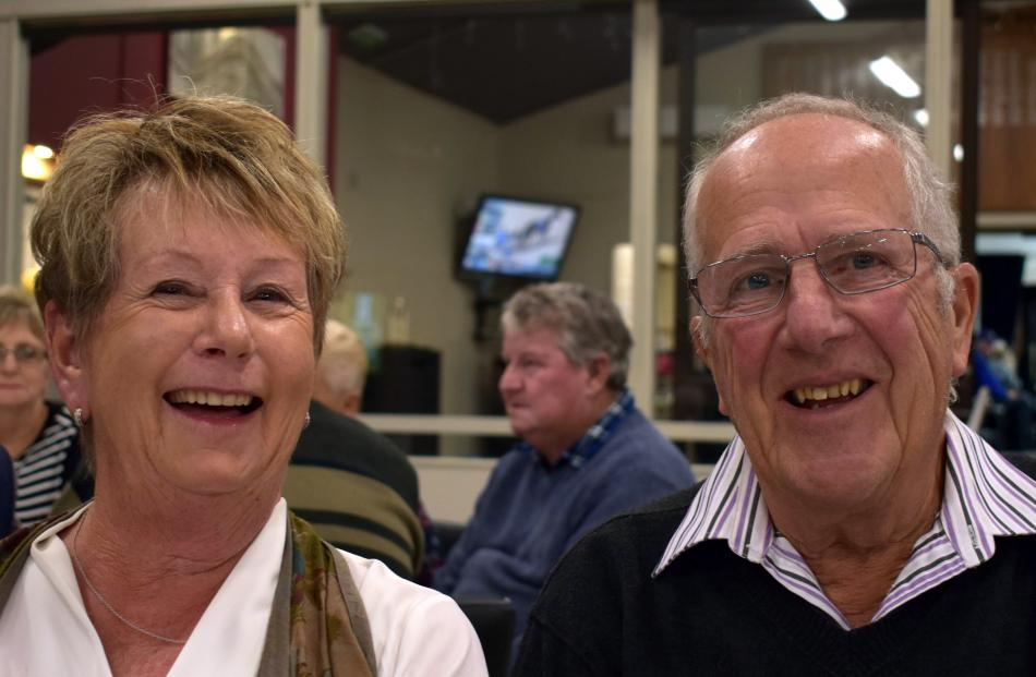Margaret and Murray Wilson (Taieri).