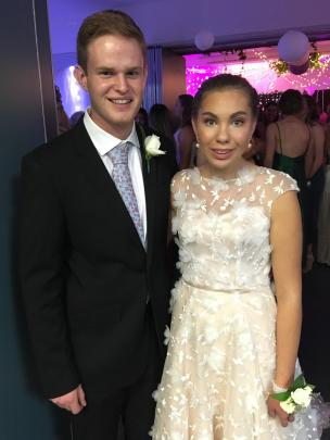 James Sutherland and Keeley Fowler.