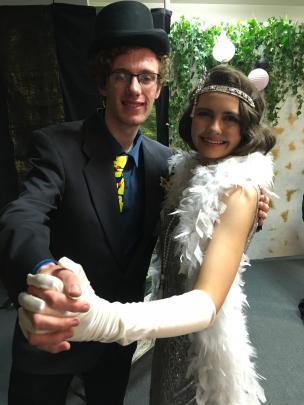 Bradley Bone and Caitlin Gordon.