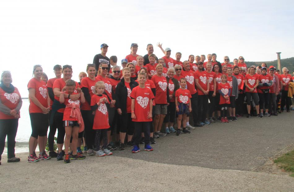 The Mothers' Day Fun Run and Walk at Friendly Bay in Oamaru attracted 72 participants. PHOTO:...