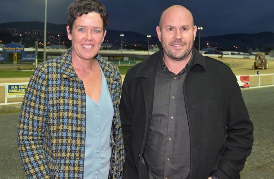 Liz Luscombe and Kyle Cameron, both of Dunedin.