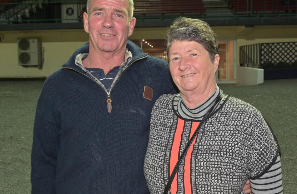 Siblings Shane Johns, of St Andrews, and Janine Young, of Orari.