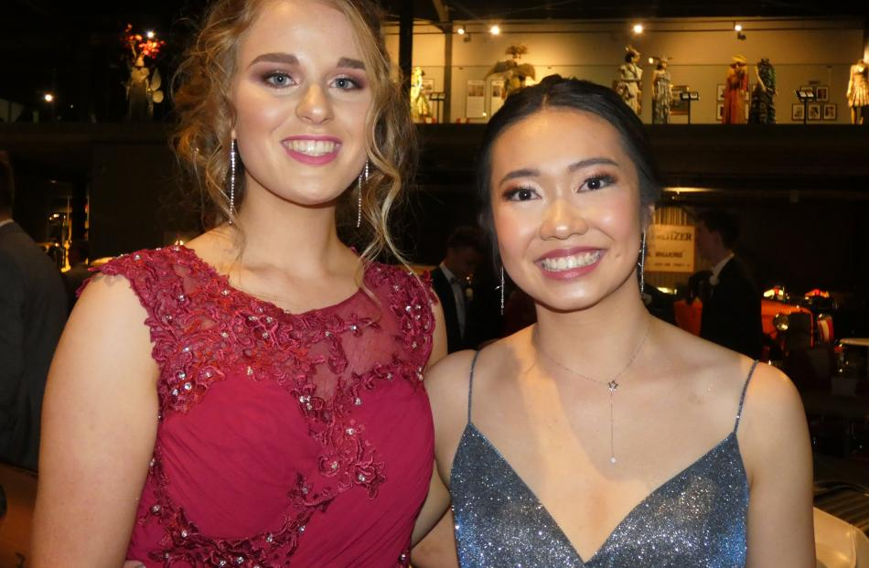 Emily Donaldson and Sophie Chen, both of Invercargill.