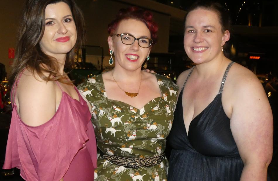 Sam Jenkinson, Laura Fryer and Essie Ford, all of Invercargill.