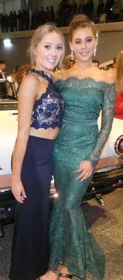 Samantha Britton and Gabrielle Schuk, both of Invercargill.