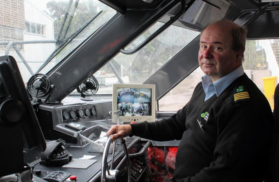 Graham Cowley has worked for more than 20 years as ferry skipper, taking passengers between Bluff...