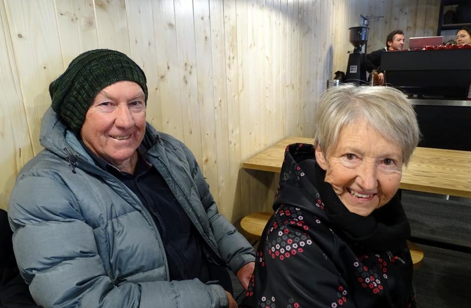 Ralph and Sheryl Hume, of Wanaka.