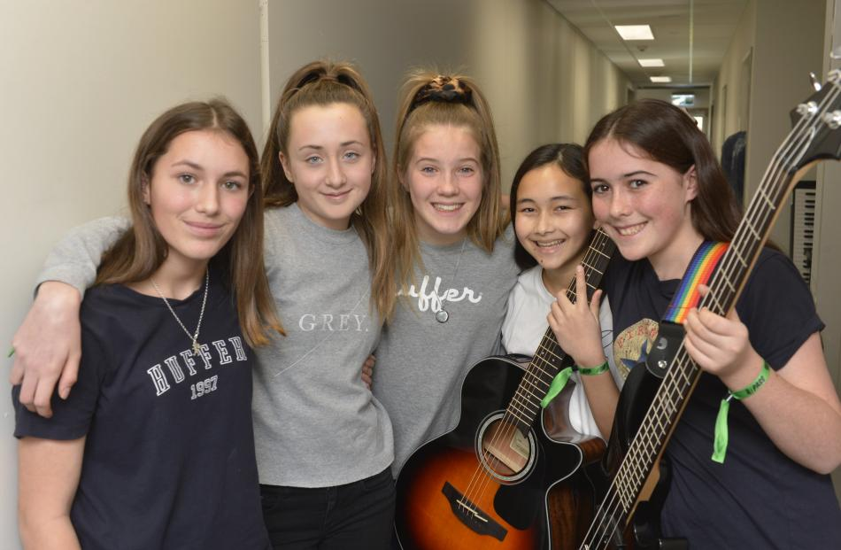 Ricochet, St Hilda's. Georgia Chambers (13), Emma Collett (13), Ava Beens (13), Elisa Fitzgerald ...