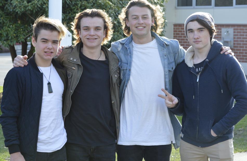 The Rambler, Bayfield High School. Alex Livingstone (15), Cameron Livingstone (18), Ben Hayward ...
