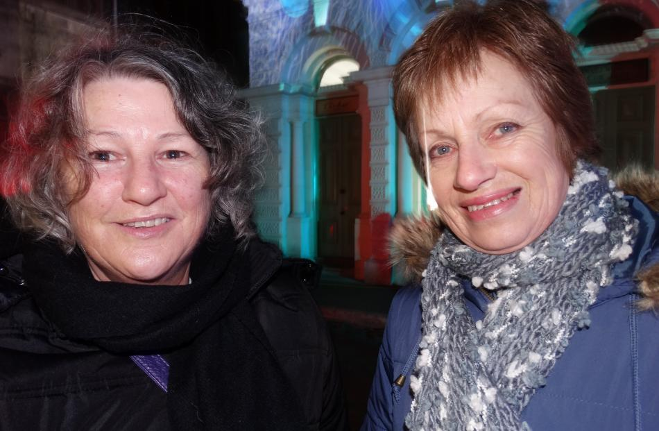 Lynn Robson and Sue Minty, both of Oamaru.