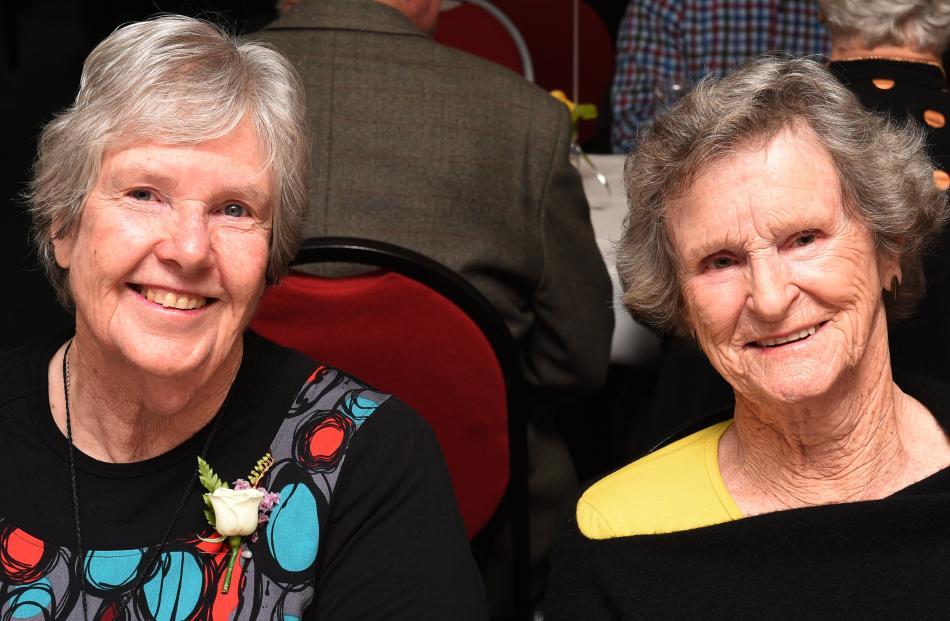 Jenny Green and Lorna Eastern, both of Dunedin.