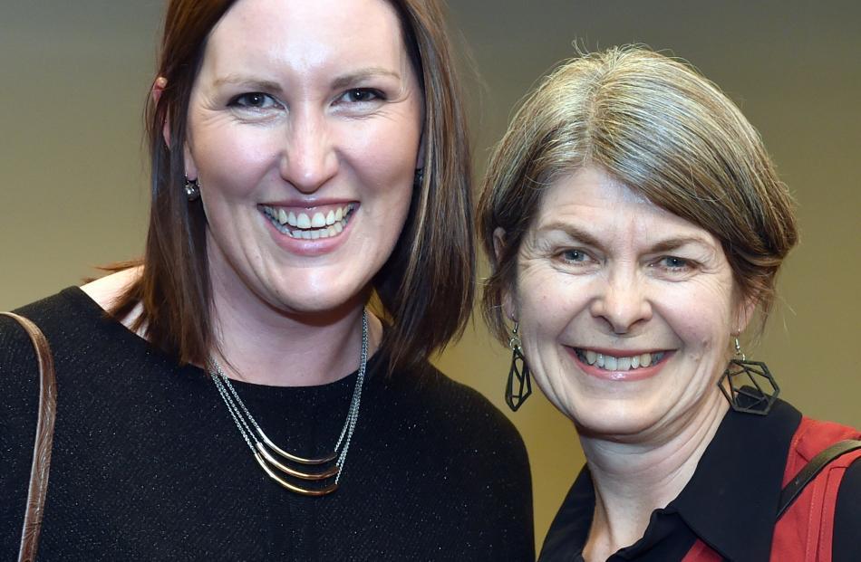Lauren Auty and Caroline Terpstra.