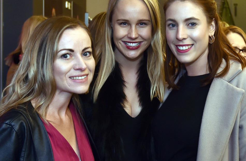 Stacey Menzies, Alice Wisker and Anna Esquilant, all of Mediaworks.