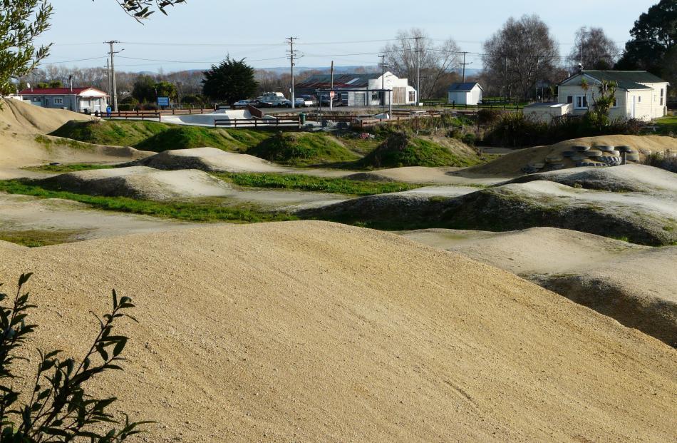 New BMX facilities