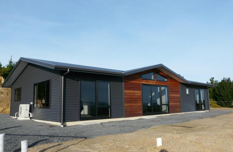A new property built as part of a ''house and land'' package used to promote Kaitangata during an...