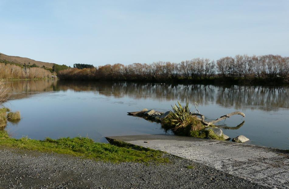 The town's boat ramp entry to the Clutha River is next on the list for an overhaul.