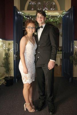 Meg Clark and Zayde Francis (both 16)