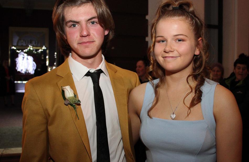 Robert Wilson and Amy Lockhart (both 16).