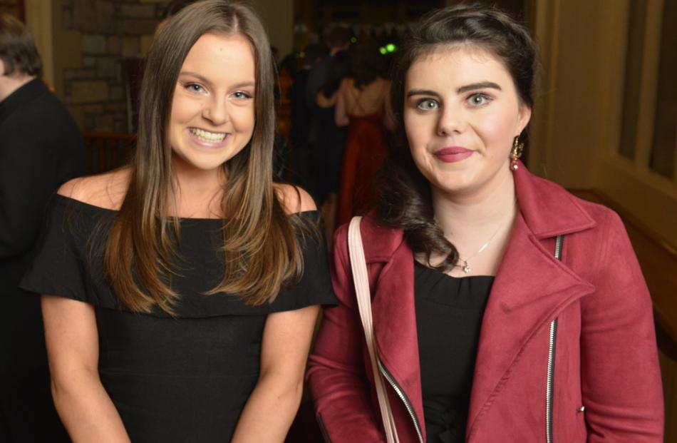 Sahara Hurley (17) and Kate Cotton (18).