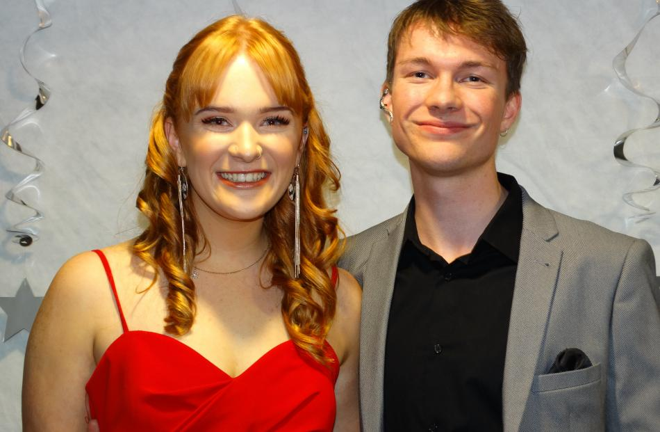 Meg Collinson (17) and Jayden Murphy, of Oamaru.