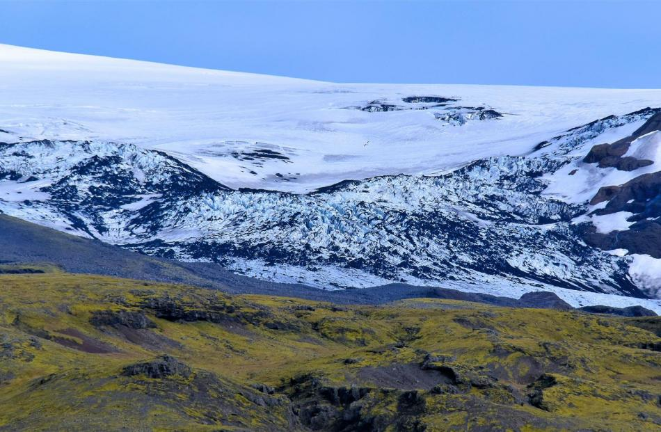 Eyjafjallajokull ice cap volcano. Its eruption in April 2010 caused havoc to air services across...