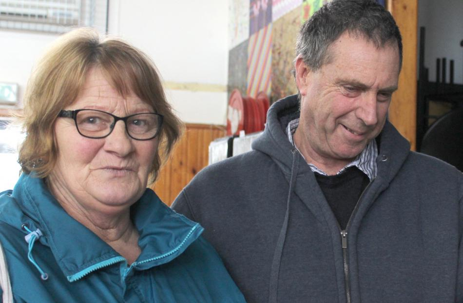 Audrey and Peter Chapman, of Invercargill.