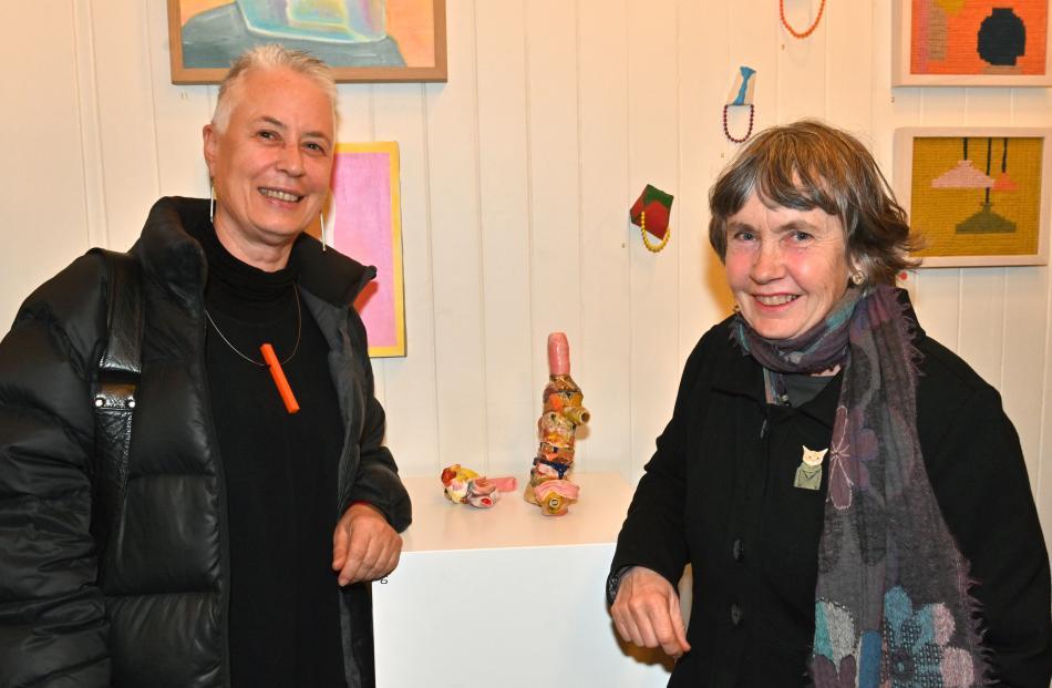 Helen Frizzell, of Dunedin, and Geraldine Tait, of Warrington.