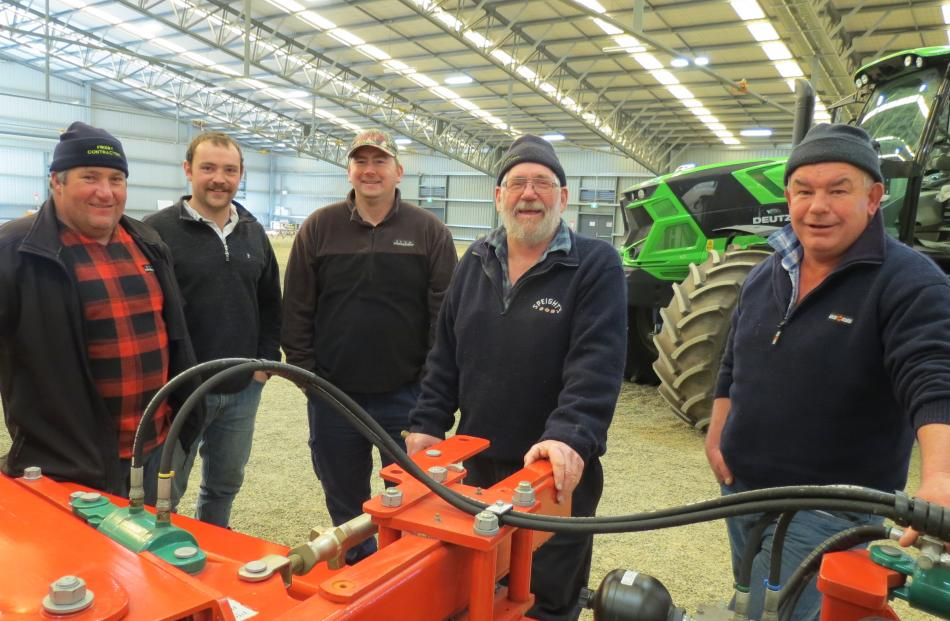 Using the Power Farming professional equipment expo at Waimumu last week as an opportunity to...