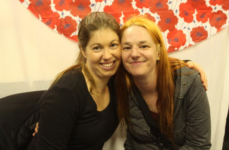 Elise Gilmore and Renee Diamond, both of Invercargill.