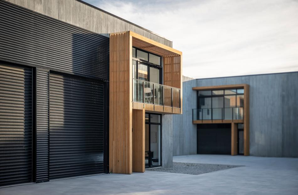 A commercial design in Ree Cres, Cromwell, netted Nicholas Mann, of AO Architecture, a commended...