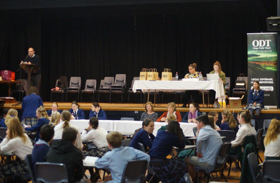 Twenty teams from Ashburton, Timaru and Oamaru competed in the years 9-10 Otago Daily Times Extra...