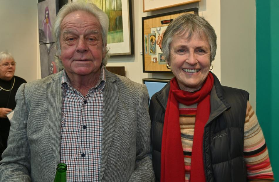 Brian and Robyn Bridges, of Dunedin.
