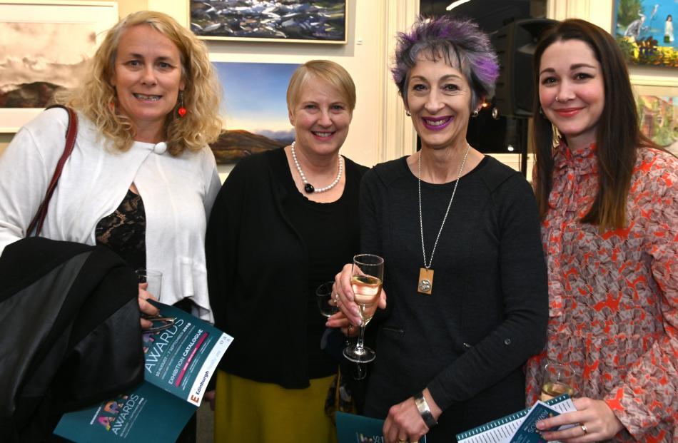 Vicie Hodge, Gayleen Parslow, Jane Smith and Sarah Jordan, all of Dunedin.