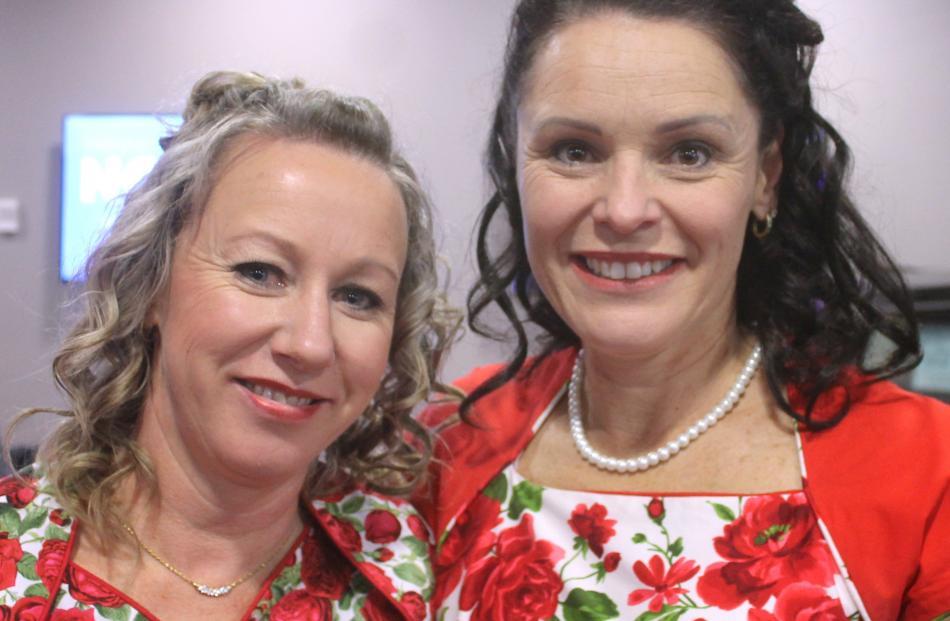 Mellisa McFarlane and Rochelle Robins, both of Invercargill.