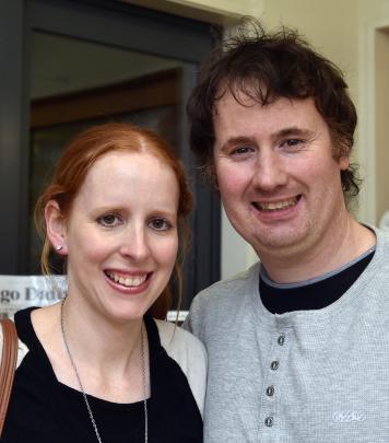 Stephanie and Dwayne Watson, of Dunedin.