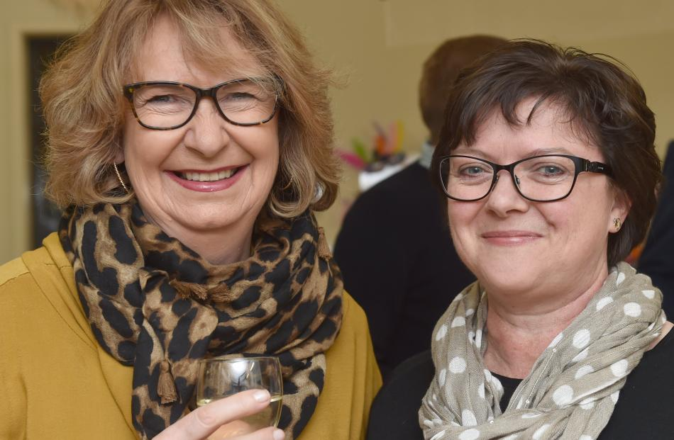 Rosie Simpson and Philippa Henry, both of Dunedin.
