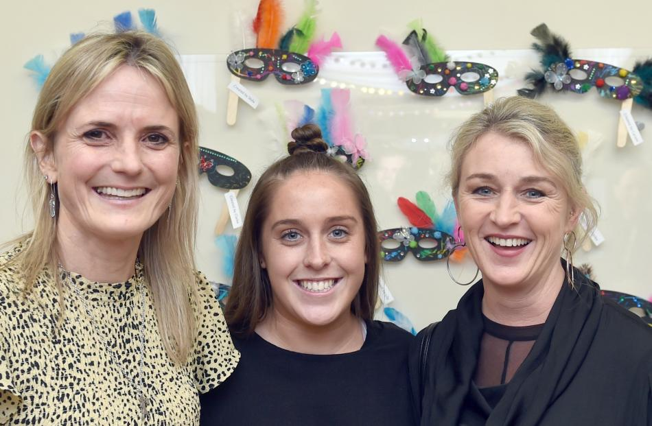 Kate Wellington, Alexi Hart and Jeanine Kydd, all of Dunedin.