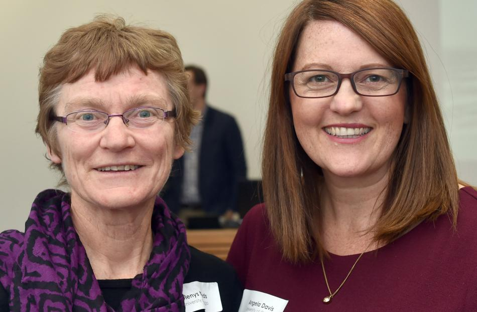 Glenys Needs and Angela Davis, both of Dunedin.