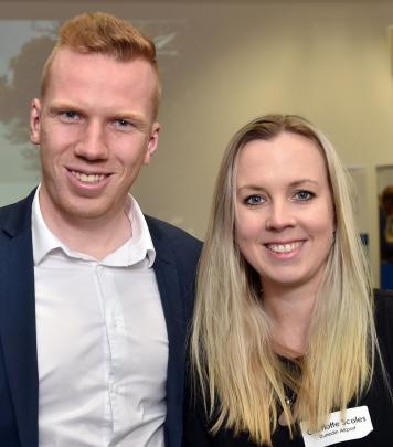 Jesse Gibbs and Charlotte Scoles, both of Dunedin.