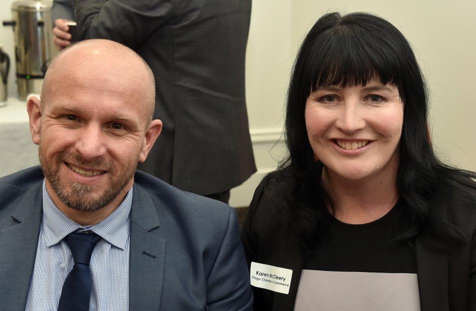 Rouen Van Eck and Karen McCleery, both of Dunedin.