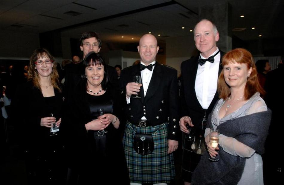 Trish and Roger Oakley, Lisa and Scott Mason and Barry and Deidre MacKay.