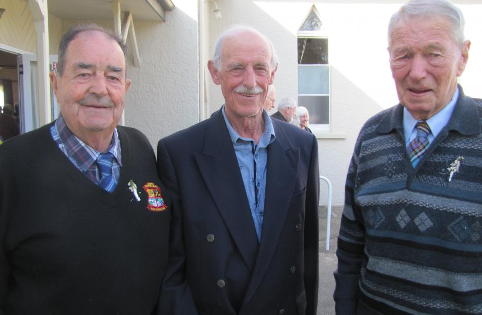 John Grenfell, John Hanning and Morell Anderson, all of Clyde.