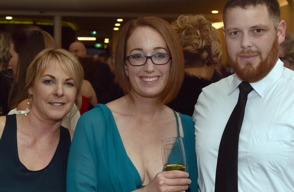 Julie Perkins, of Dunedin, Sarah Goldfinch and Simon Johnston, both of Timaru.