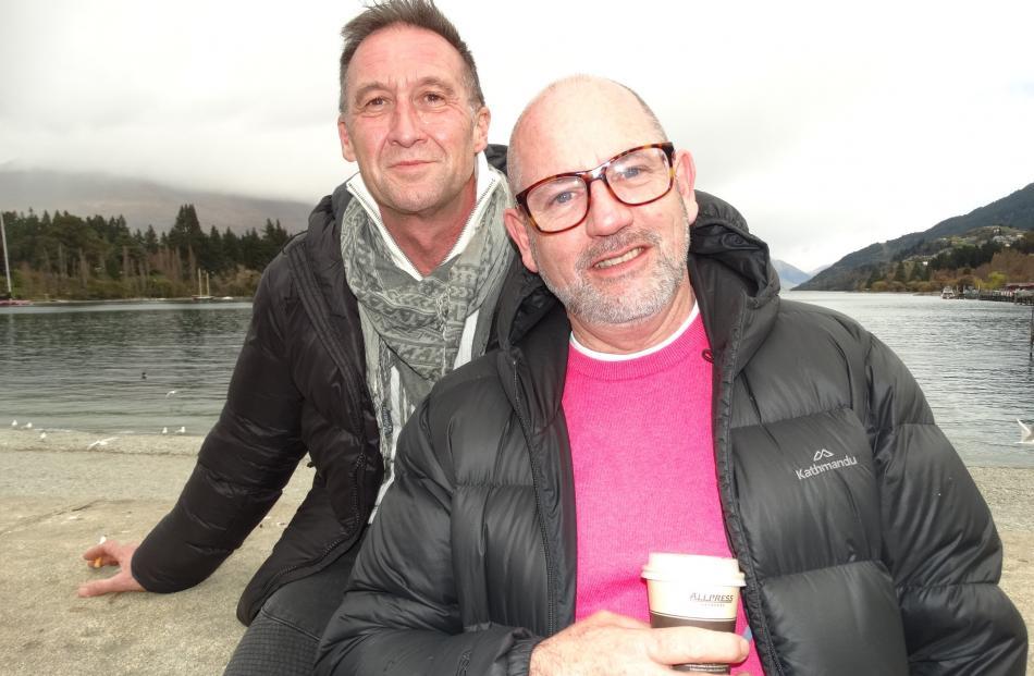 Roger and Greg Seaward-Searle, of Christchurch.