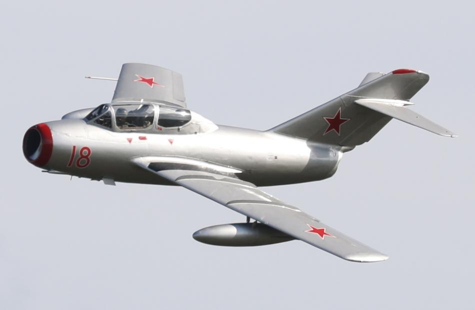 An Mig 15 fighter