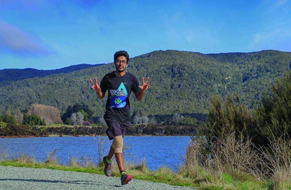 Agarsagar Khemani of Manapouri came home in a time of 02:16:20 and 84th placing overall. Photo...